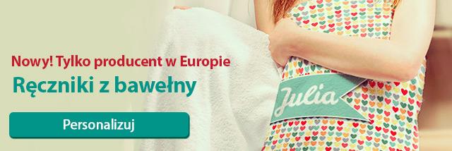 Ręczniki z bawełny - Tylko producent w Europie