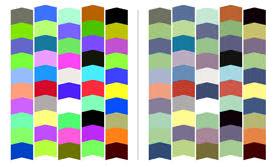 Diferencia de colores
