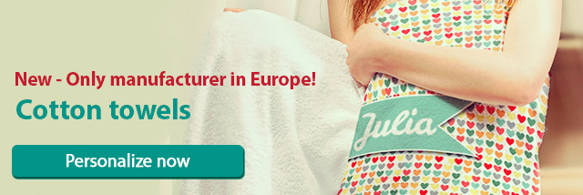Cotton towels - Only manufacturer in Europe!