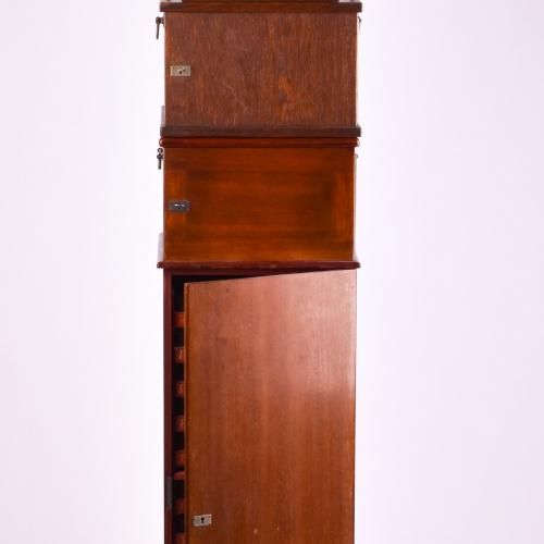 Ica-Multiplast stereo viewer mahogany polished 4,5x10,7