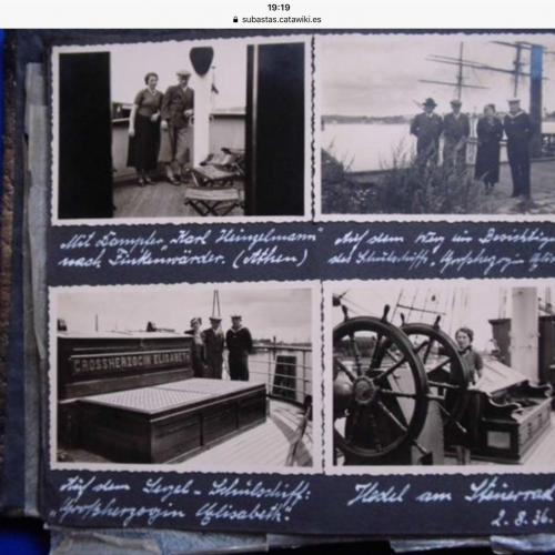 Photo album with 100 pictures 1936 German Olympic family 1918