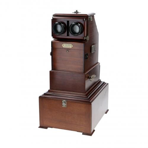 Stereo viewer desktop Le Polyphote 45x107