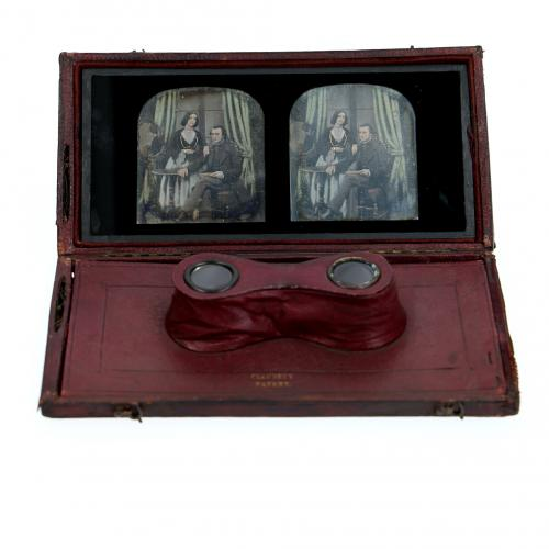 Stereo viewer daguerreotype claudets
