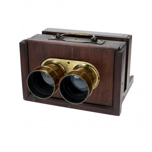 French stereo camera collodion