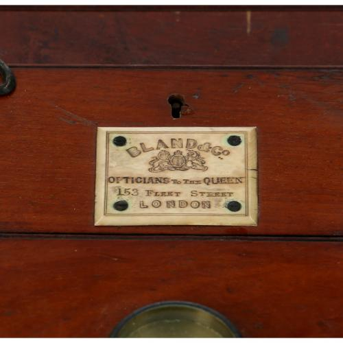 Stereo Camera BLAND & Co, OPTICIANS to the QUEEN