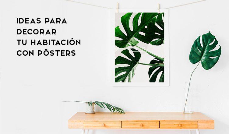 Ideas-para-decorar-tu-habitación-con-pósters